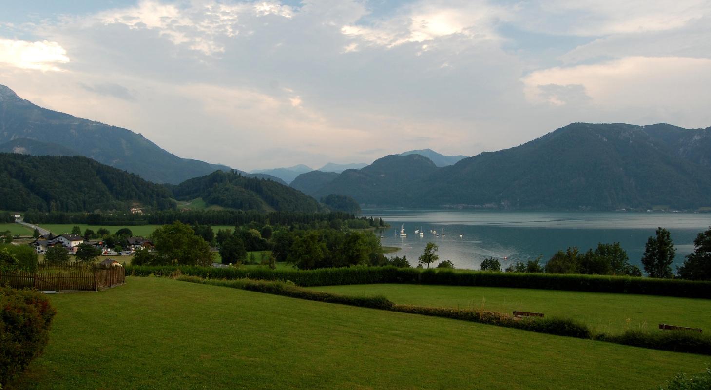 Obr. 7-6 krajina jižního Rakouska