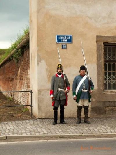 Litoměřická brána, sapéři, foto: www.historickasidla.cz