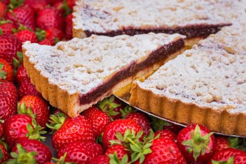Upečte si Jahodovo-rebarborový francouzský koláč