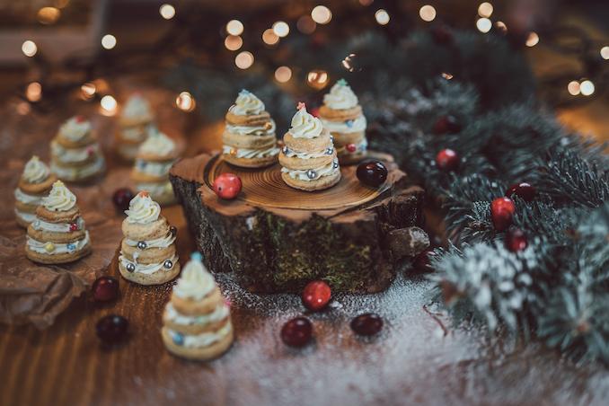 Sušenky samotné nebo v podobě stromečku