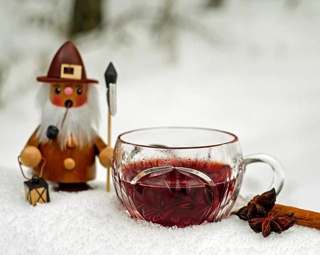 Svařené víno k sváteční atmosféře patří