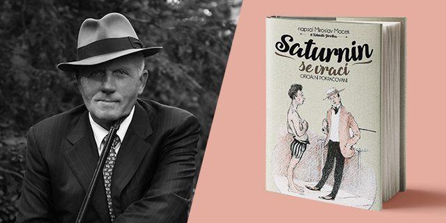 autor knihy Saturnin se vrací- Miroslav Macek