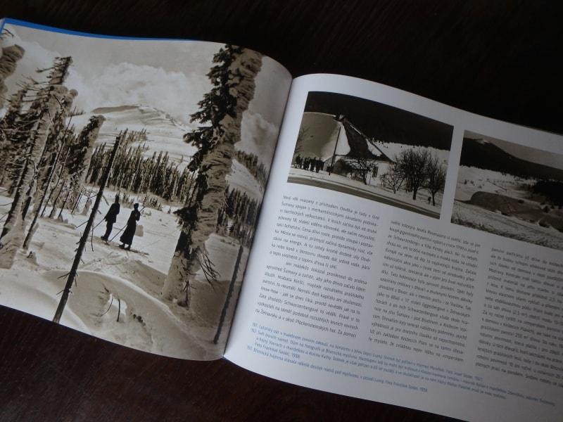 ukázka z knihy Šumava krajina pod sněhem