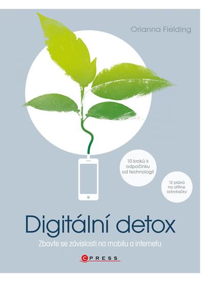 obálka knihy digitální detox