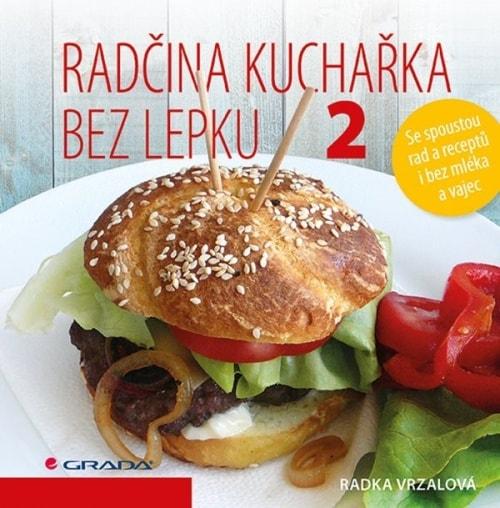 přebal knihy Radčina kuchařka bez lepku 2