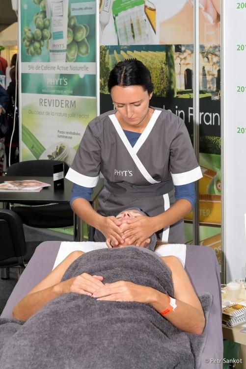 kosmetická péče na veletrhu World Of Beauty & Spa