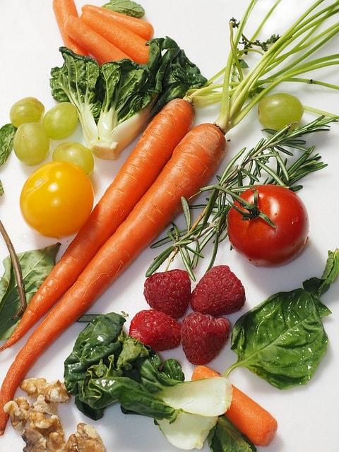 zelenina na stole je dobrá na půst