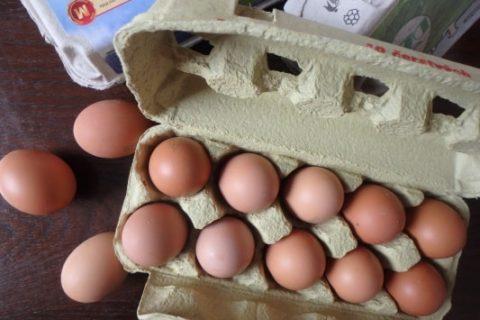 balení vajec