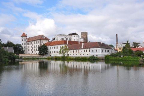 Jindřichův Hradec - pohled na zámek