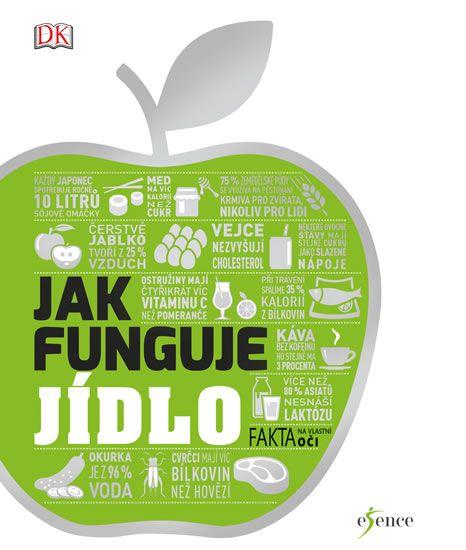 Jak funguje jídlo - graficky zajímavý a informacemi nabušený titul zaujme i ty, kteří jídlo neřeší