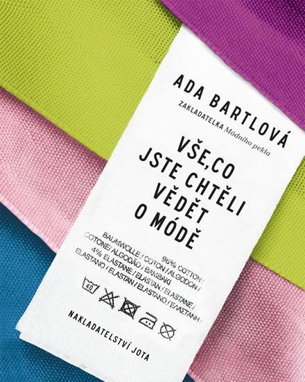 Vše, co jste chtěli vědět o módě prozrazuje Ada Bartlová