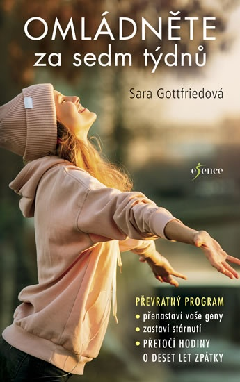 Soutěž o knihu Sary Gottfriedové Omládněte za sedm týdnů