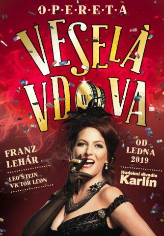 Veselá vdova - klasická opereta v Hudebním divadle Karlín je velkolepou podívanou