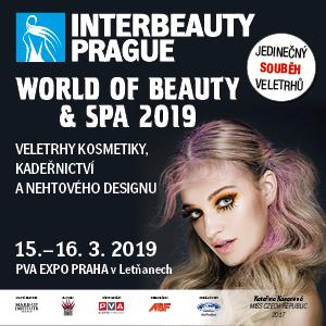 INTERBEAUTY PRAGUE a WORLD OF BEAUTY & SPA 2019