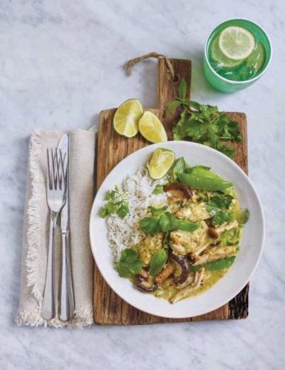 Připravte si Thajské zelené kuřecí kari podle Jamieho Olivera