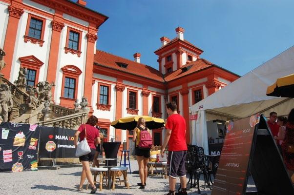 Vkrásné zahradě Trojského zámku mohli návštěvníci už podeváté ochutnat dobroty více jak 40 prestižních restaurací a značek