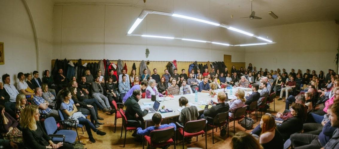 Společenstvo vlastníků v prostředí sálu Masarykova nádraží je skutečným zážitkem