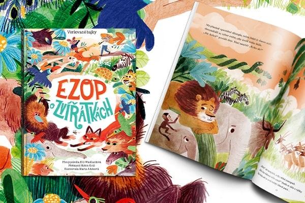 Soutěž o 3 výtisky knihy Ezop - O zvířátkách