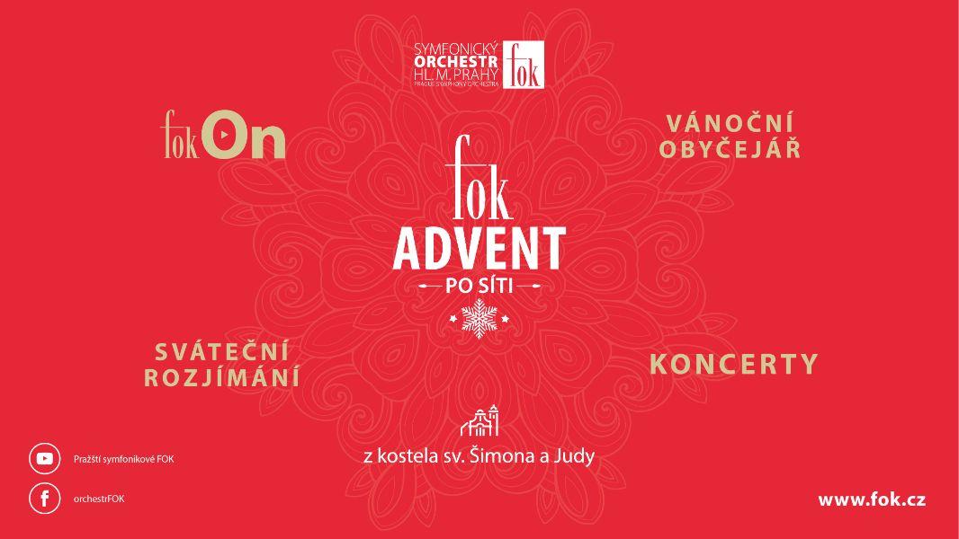 FOK na své posluchače nezapomíná, připravil Advent po síti